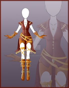 [Close] Adoptable Outfit Auction 5 by Kolmoys