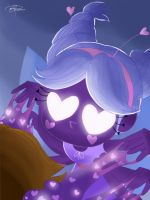 Mewberty - Star vs the forces of evil fanart  by pdcdraws
