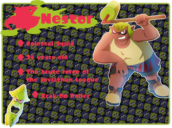 Splatoon OC: Nestor by LioSKETCH