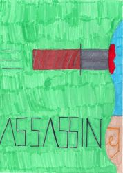 Assassin Poster by phantomearbud