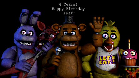 FNaF SFM: 4 Years! by Mikol1987
