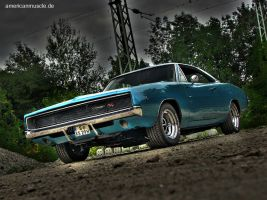 1968.charger III by AmericanMuscle
