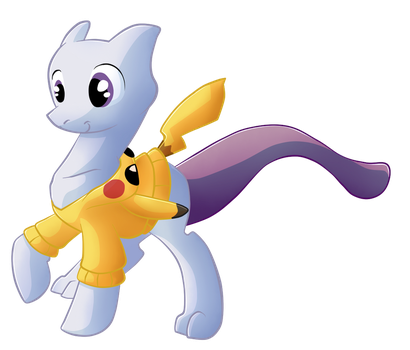 My Little Mewtwo by Lord-Waffle