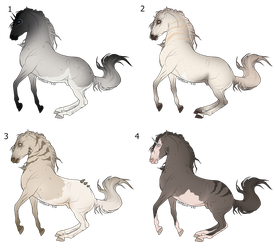 Horse adopts vol.3 1/4 OPEN by Verfalo