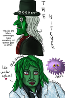 The Hitcher and Old Gregg by lizathehedgehog