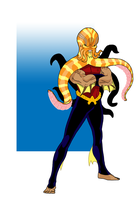 Aqualad Redesign by onecoyote