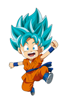 goku ssgss by naironkr