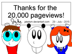 20,000 Pageviews! by jakelsm