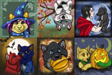 2014 FALL PUP TRADES CLOSED by NatsumeWolf