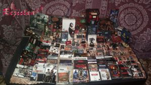 My Resident Evil Biohazard Collection by Rejiclad