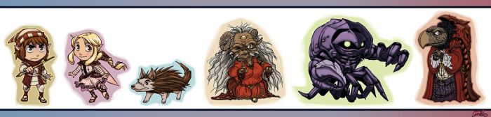 Legends of the Dark Crystal SD by HeidiArnhold