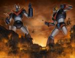 Great Mazinger vs Grendizer by SamDelaTorre