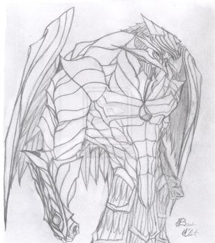 Armored Angel Thane by wolfvorg