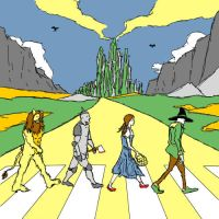 Yellow Abbey Road by dippydude