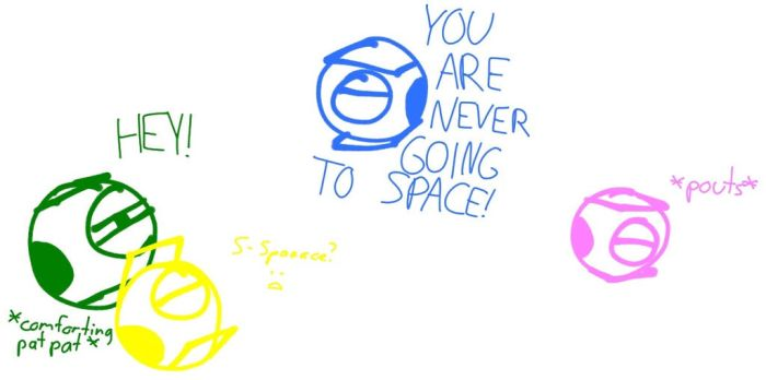 Geekenders Portal - Never Going to Space by Cat-Fishy