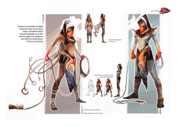 Ssonya project - Character Design (Final) by SillyJellie
