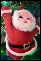 Vintage Santa Claus Ornament by Vamppy