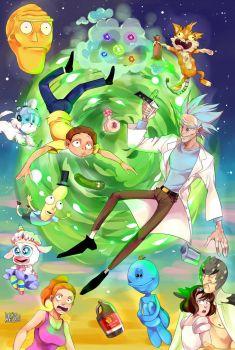 Rick and morty by Danny-chama
