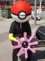 Pokeball Cosplay, MCM Expo London- May 2013 by Pixie-Aztechia