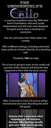 Artist Ad for TUC endings! by herooftime1000