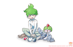 Wally And Ralts by AF-Wishful-Thinking
