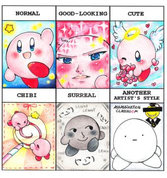 .:Style Meme:. KIRBY:. by PaperLillie