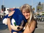 SMRS and Sonic by SonicHearts