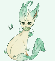 Leafeon by saeshells