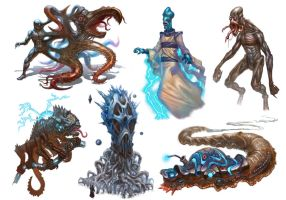 Numenera - Ninth World Bestiary 2 by jubjubjedi