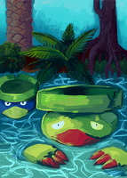 Lotad and Lombre