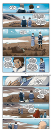 ATLA: NAS - Katara visits her mothers grave + end by Cynderthedragon5768