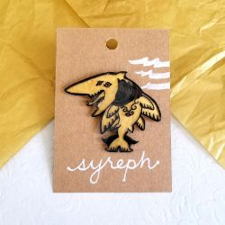 Syreph | Spirit Animal Pin by killamonstar