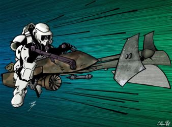 Speederbike by ChrisHanel
