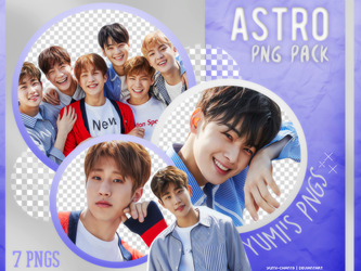 PNG PACK: ASTRO (Dream Part.1, Concept Photo #01) by Hallyumi
