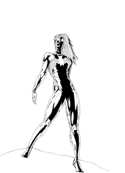 Ultimate Spider Woman-original by vitasimplex