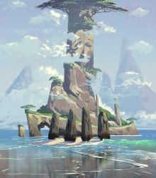 Isle Of Gods 2 10 18 by yinfaowei