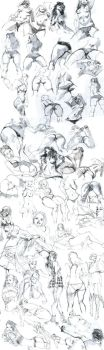 Pencil Sketches Part 2 by celor