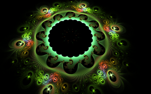 fractal earth with lights by Andrea1981G