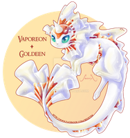 [adopt] Vaporeon X Goldeen  [Closed]
