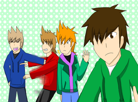 Eddsworld: Let's (Try and) Take a Group Picture! by CrasherMang