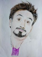 Robert Downy, Jr. by meijhel
