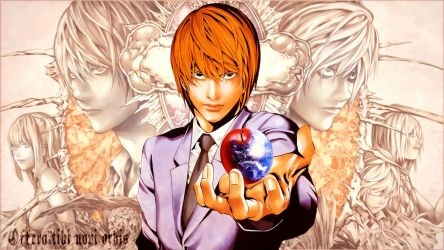 Death Note - ''Light Yagami'' (Wallpaper 03) by Dr-Erich