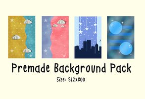 Premade background pack by StoneHeartedHan
