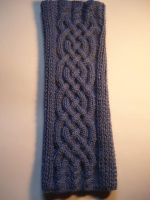 Celtic knitting for arm by XaelMcEwan