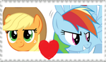 AppleDash stamp by Sonicsallywolfsdog