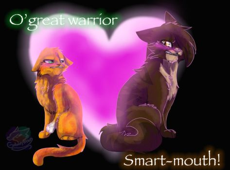 O' Great Warrior! Smart-mouth! by GalaxyBlues
