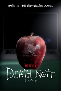 Death Note Netflix Series Poster by hi2tai