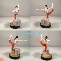 Wiifit Chell Portal Custom Amiibo by ChibiSilverWings