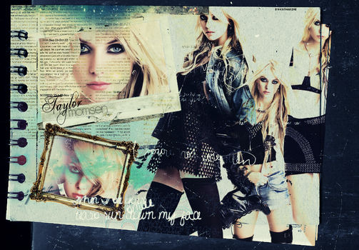 Taylor Momsen by cartwing