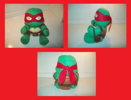 New Raph plush by animelover2day